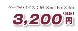 税込金額3200円